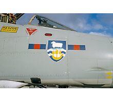 Falklands Crest on 23 Sqn Phantom Photographic Print