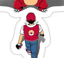 Pokémon Champion Red Sticker