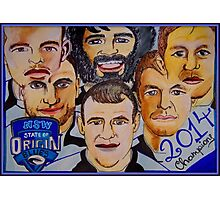 Blues Champions Origin 2014  Photographic Print