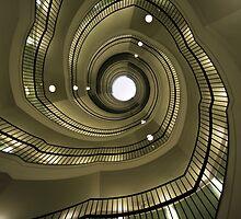 Modern spiral staircaise by JBlaminsky