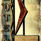 Vintage Arrow Motel Sign, Lompoc, CA by Honey Malek