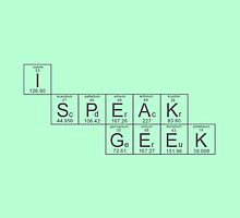 I Speak Geek by Holly Cagney