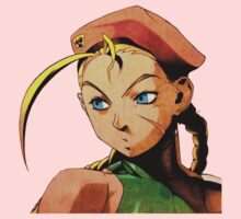 Cammy  streetfighter chick Kids Clothes