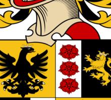 Sutter Coat of Arms (Austrian) Sticker