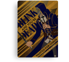 Corvo - Blink Canvas Print