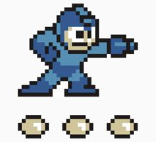 Mega Man (8-bit) by cusmar