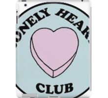 lonely hearts club iPad Case/Skin