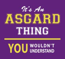 It's An ASGARD thing, you wouldn't understand !! by satro