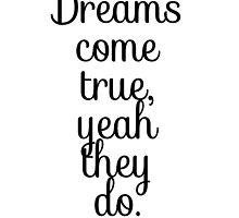 Dreams Come True by tatiananori