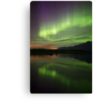 Aurora Borealis Reflections Canvas Print
