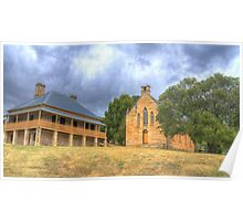 Hartley Historic Village # 2 - Hartley NSW - The HDR Experience Poster