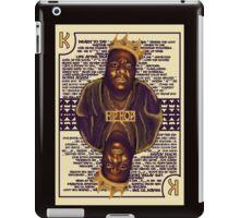 Hip Hop King -- Biggie iPad Case/Skin