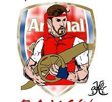 """Aaron """"Rambo"""" Ramsey by AKBame21"""