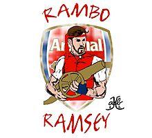 """Aaron """"Rambo"""" Ramsey Photographic Print"""