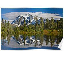 Mt. Shuksan Reflection Poster