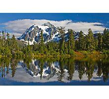 Mt. Shuksan Reflection Photographic Print