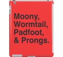 The Marauders iPad Case/Skin