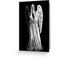 Weeping Angel - Don't Blink Greeting Card