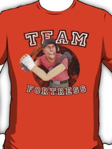 Team Fortress 2 Scout College Sports Design T-Shirt