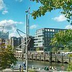 Hamburg -Summer -Magellan terrace by OLIVER W