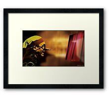 The Truth Seeker Framed Print