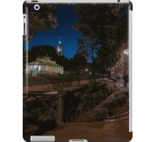 Old Town Hall and Conservatory at Night iPad Case/Skin