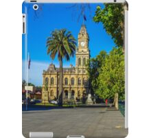 Old Town Hall and Shamrock Hotel Christmas Eve 2013 iPad Case/Skin