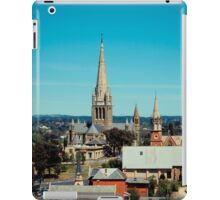 Sacred Heart Cathedral from the Poppet Head iPad Case/Skin