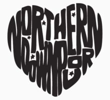 Northern Downpour membership shirt- Dark Grey by emmabunclark