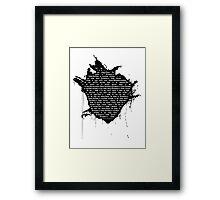 Strawberry Fields Forever (with lyrics) Framed Print