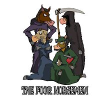 The Four Horsemen Photographic Print