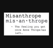 Misanthrope by TheKingLobotomy