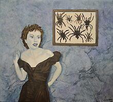Trapped (Spiders) by Jane Ianniello