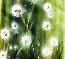 Dandelions by Manneherrin