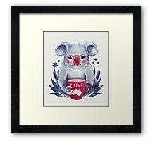 I♥Australia Framed Print