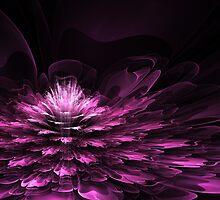 Purple fractal flower by MartinCapek