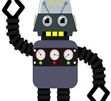 Funny robot by MartinCapek