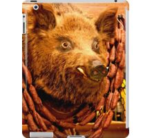 Cinghiale Toscano iPad Case/Skin