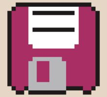 Floppy Disk - Pink by pai-thagoras