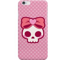 Skull Bow iPhone Case/Skin