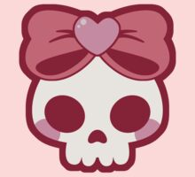 Skull Bow Kids Clothes