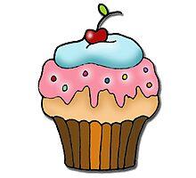 cherry cupcake by AnnaCas