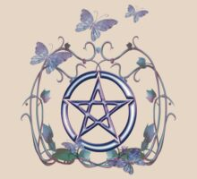 Pentacle Butterflies by LoneAngel