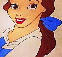 Drawing of Belle by 14horseygirl