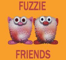 Fuzzie Friends .. Tee Shirts by LoneAngel