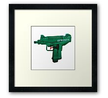 Odd Future Gun Framed Print
