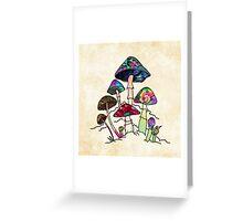 Garden of Shroomz Greeting Card