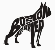 Boston Terrier Black T-Shirt