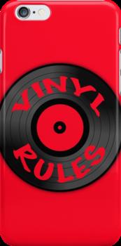 Vinyl Rules by Jeff Clark