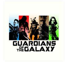 Guardians Of The Galaxy Art Print